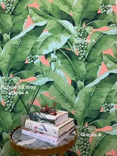 banana leaf wallpaper repeat explained